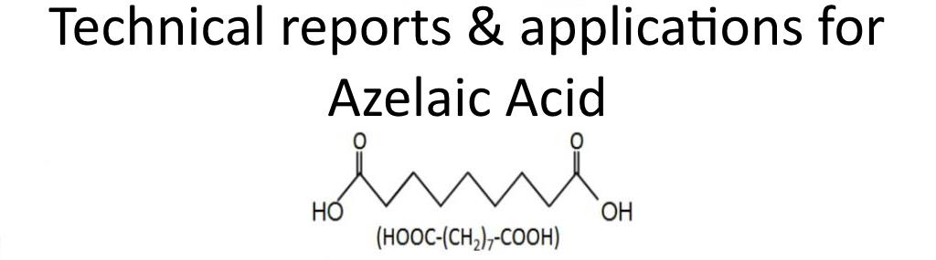 Your Azelaic acid information page